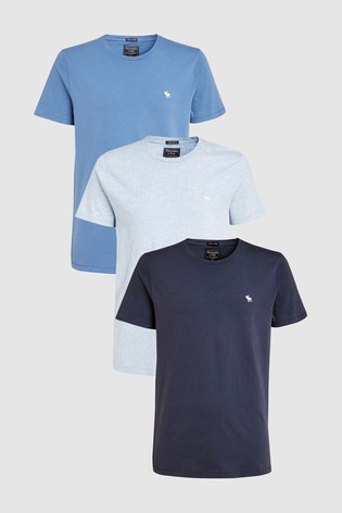 f3ec8d507901 Buy Abercrombie   Fitch T-Shirts 3 Pack from the Next UK online shop