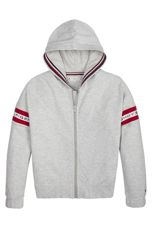 a7796080 Buy Tommy Hilfiger Girls Logo Tape Hoody from Next Ireland