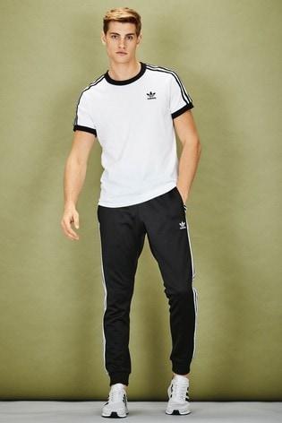 e7eb607cd2 Buy adidas Originals 3 Stripe California T-Shirt from the Next UK ...