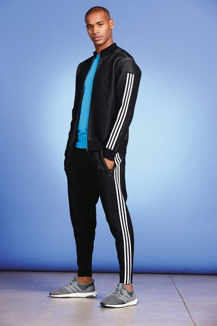babc859e Buy adidas ID Knitted Black Track Top from Next Malta