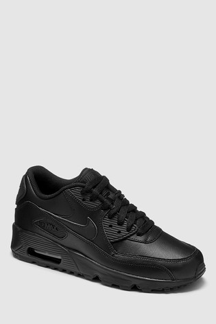 new products 56d8e dc1e3 Black Nike Air Max 90 Youth ...