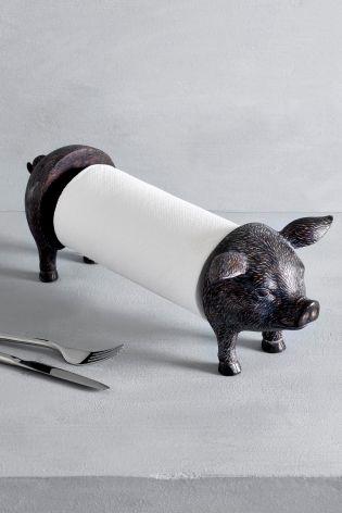 Ordinaire Pig Kitchen Roll Holder