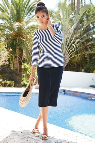 c3fe58f37370 Buy Rinse Jersey Denim Tube Skirt from Next Slovakia