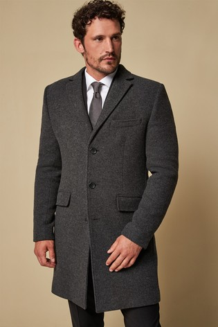 f70737879e06 Buy Charcoal Nova Fides Signature Epsom Coat from Next Bahrain