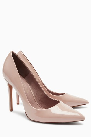 1bab1a9a88a Buy Blush Forever Comfort® Point Court Shoes from Next Lithuania