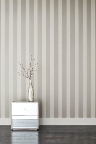 Gold Paste The Wall Sequin Stripe Wallpaper