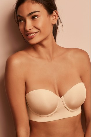 1aff59a70daef Buy Nude Phoebe Light Pad Low Back Smoothing Multiway Bra from Next ...