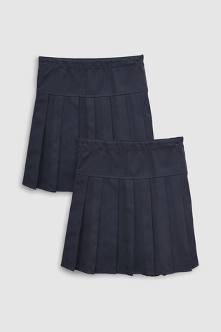 6dc622c62de7 from Next Slovakia Buy Navy Long Pleated Skirt Two Pack (3 – 16 rok.)