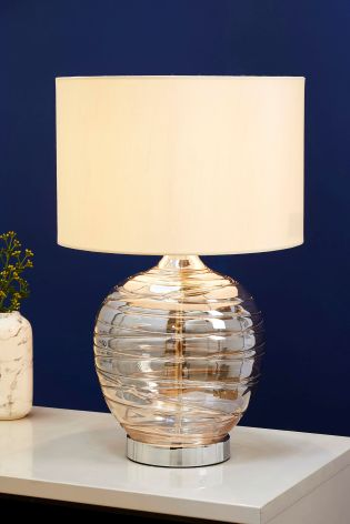 Buy drizzle touch table lamp from the next uk online shop mink drizzle touch table lamp aloadofball Image collections