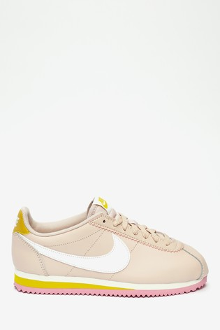 Torpe Vicio neutral  Buy Nike Leather Cortez Trainers from the Next UK online shop