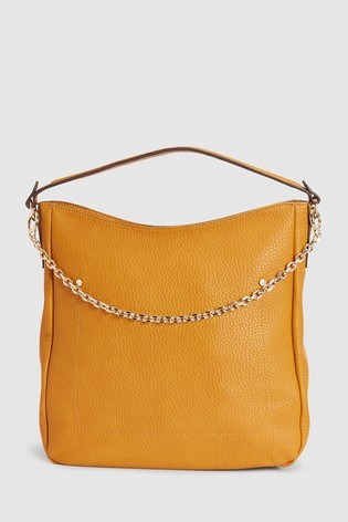 Buy Ochre Hobo Bag With Removable Chain from the Next UK online shop d73dcffad0e12