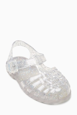 853e3cebaa4b Buy Glitter Jelly Shoes (Younger) from the Next UK online shop