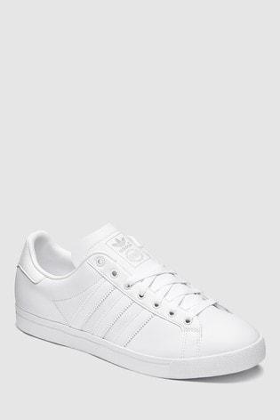 timeless design 56d7b 0ffd2 White adidas Originals Coast Star ...