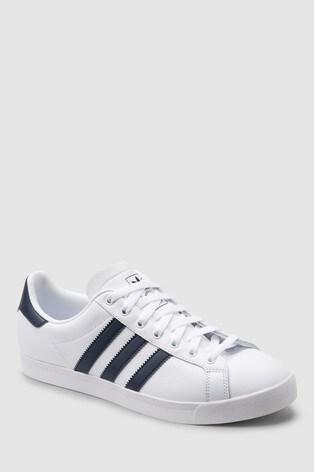 new style 445b8 a2139 White Black adidas Originals Coast Star ...