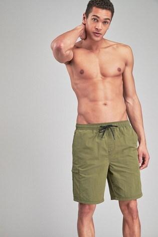 0b92f14f33 Buy Khaki Utility Swim Shorts from the Next UK online shop