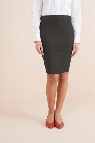 ed350e6cef Buy Black Tailored Above Knee Pencil Skirt from the Next UK online shop