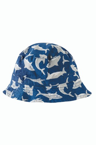 36b9ed032 Buy Frugi Organic Reversible Hammer Shark Hat from Next Slovakia