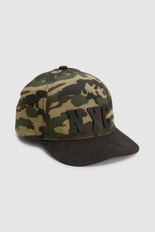 Buy Camouflage NYC Cap (Older) from the Next UK online shop 078490fa278