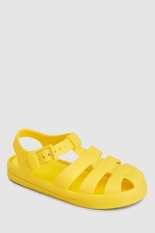 fc90afa5b01a Buy Yellow Jelly Sandals (Younger) from the Next UK online shop