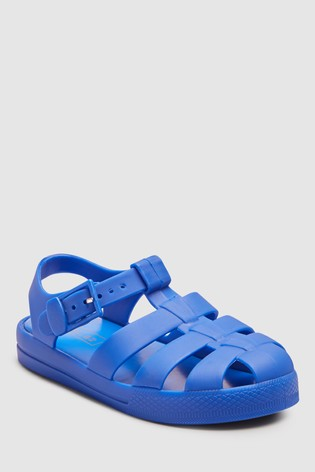 caa2970a40b8 Buy Cobalt Jelly Sandals (Younger) from Next United Arab Emirates