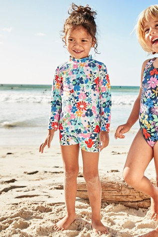 0ddfcf92b27b Buy Floral 2 Piece Sunsafe Set (3mths-7yrs) from the Next UK online shop