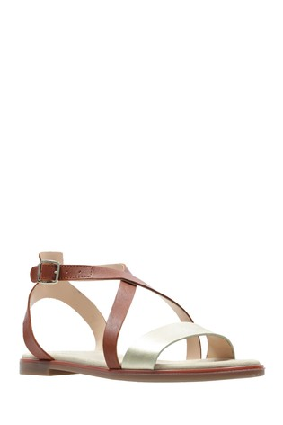 Clarks Bay Rosie Leather Sandal Women's Shoes