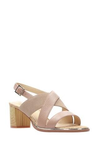 25624d3642d Buy Clarks Nude Ellis Tilda Sandal from the Next UK online shop