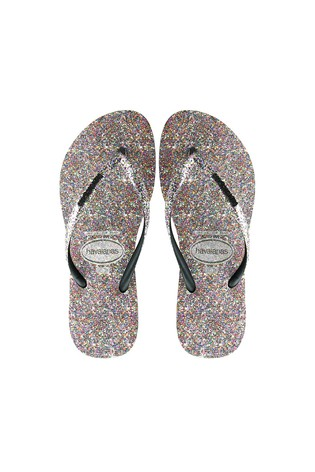 9f167a878527 Buy Havaianas® Multi Glitter Slim Carnaval Flip Flop from the Next ...