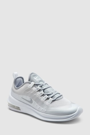 new products 4bf2a 6c321 Silver Nike Air Max Axis ...