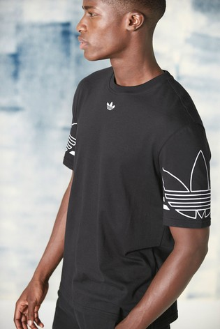 5d83cb9adf9 Buy adidas Originals Outline Tee from the Next UK online shop