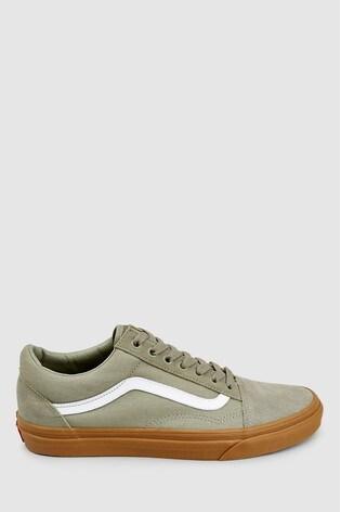 5c0b7123c0e Buy Vans Khaki Old Skool Trainer from Next Germany