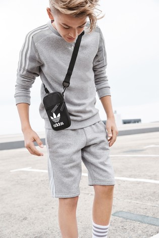 f6bffe5baa Buy adidas Originals Black Trefoil Festival Bag from the Next UK ...