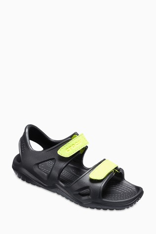 32260a89f1cc Buy Crocs™ Black Swiftwater River Sandal from Next Lebanon
