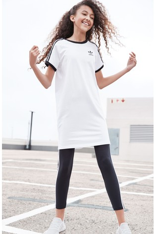 bfb8edb7 Buy adidas Originals White Trefoil Dress from the Next UK online shop
