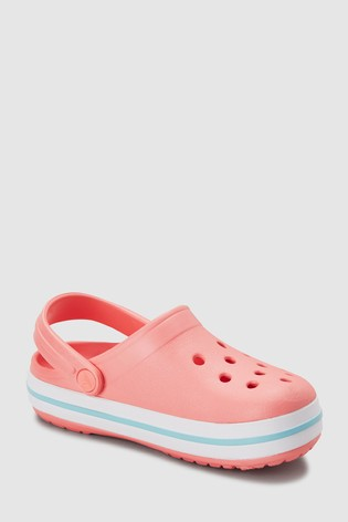 3a42468a Buy Crocs™ Pale Pink Crocband™ Clog from the Next UK online shop