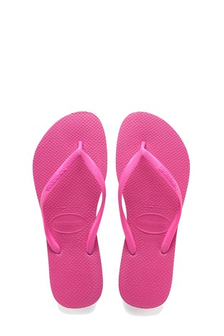 7ed751fca Buy Havaianas® Shocking Pink Kids Slim Flip Flop from Next Malta