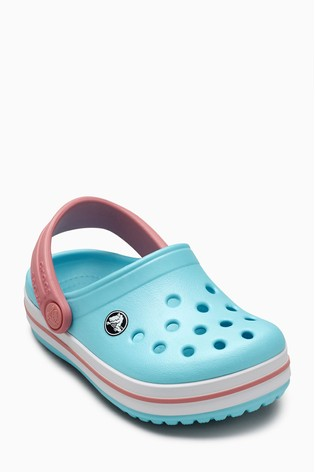 06a3b3e14ffca5 Buy Crocs™ Ice Blue White Crocband™ Clog from Next Ireland