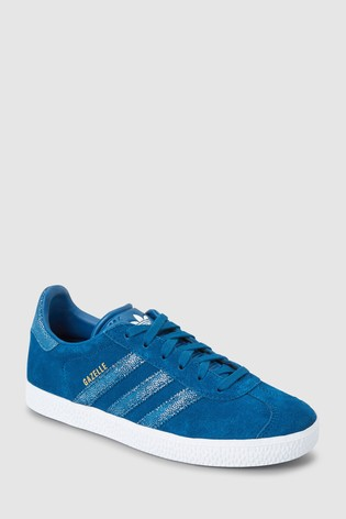 limited guantity los angeles new lower prices Buy adidas Originals Blue Gazelle Youth from Next Belgium