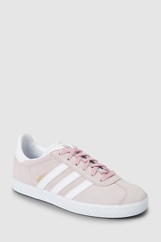 7f6b0d2b4c4f6 Buy adidas Originals Pink Gazelle Youth Trainers from Next Slovakia