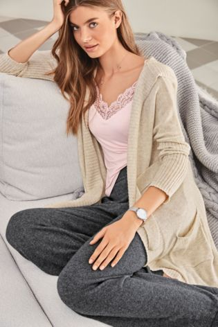 225de4bb6722 Buy Oatmeal Premium Knitted Cardigan With Cashmere from Next Czech ...