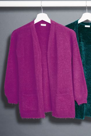 4aff47a2d Buy Magenta Cosy Cardigan (3-16yrs) from Next Hong Kong