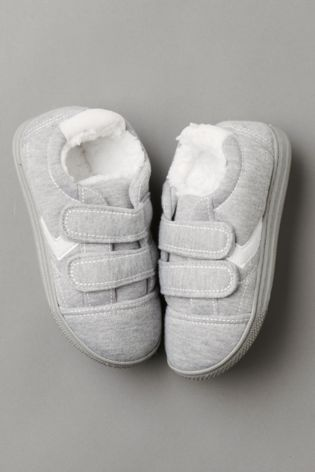 24909c1dd0a6 Buy Grey Trainer Slippers (Older) from Next Hong Kong