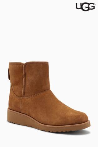 UGG® Chestnut Kristin Wedge Mini Boot ...