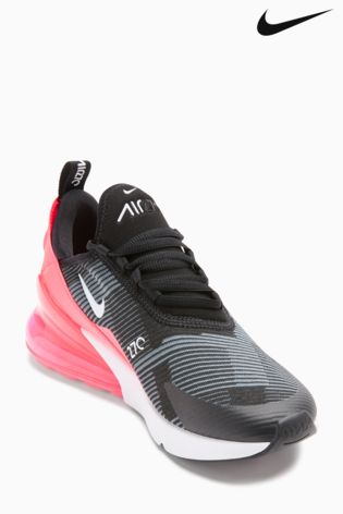 Baskets Nike Air Max 270 noir/rose ...