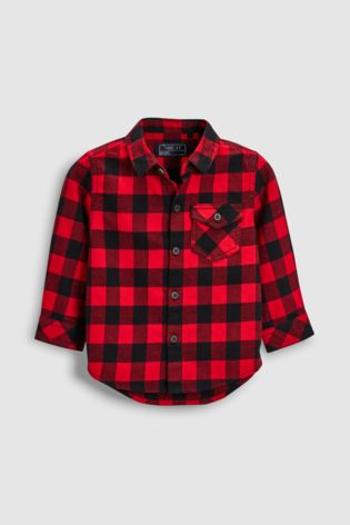 Rood Zwart Overhemd.From Next Netherlands Buy Red Black Check Long Sleeved Shirt 3 Mnd