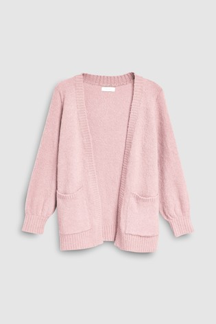 d13d54607 Buy Pink Cosy Cardigan (3-16yrs) from Next Kuwait