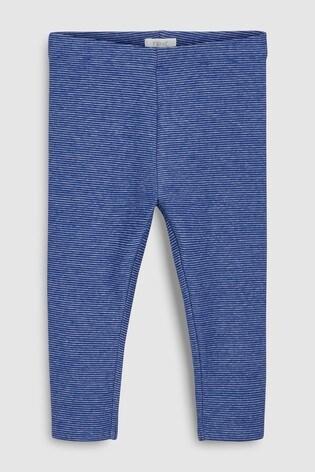 from Next Slovakia Buy Blue Fine Stripe Leggings (3 mes. – 5 rok.) 024bf908ea1