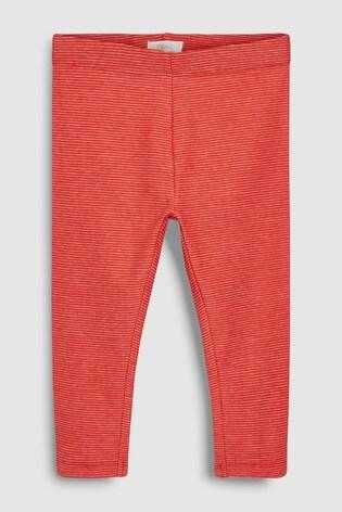 from Next Slovakia Buy Red Fine Stripe Leggings (3 mes. – 5 rok.) 52e1f97fa0a