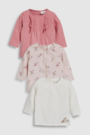 a85f00902827 Buy Pink Pretty T-Shirts Three Pack (0mths-2yrs) from Next Denmark