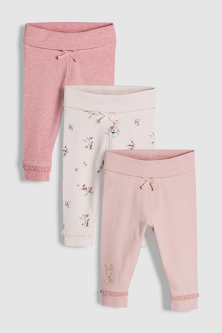 2b47390ce899 Buy Pink Pretty Leggings Three Pack (0mths-2yrs) from Next Gibraltar